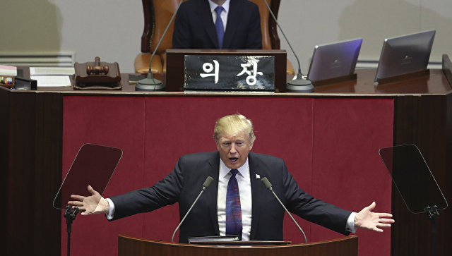 Трамп назвал КНДР «адом, который незаслуживает ниодин человек»