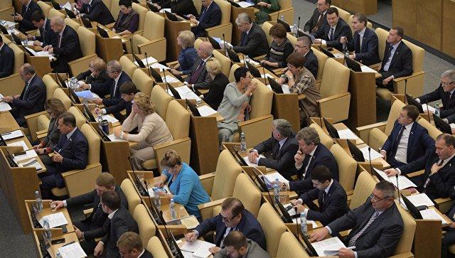 Госдума приняла проект о порядке регистрации одномандатников от партий