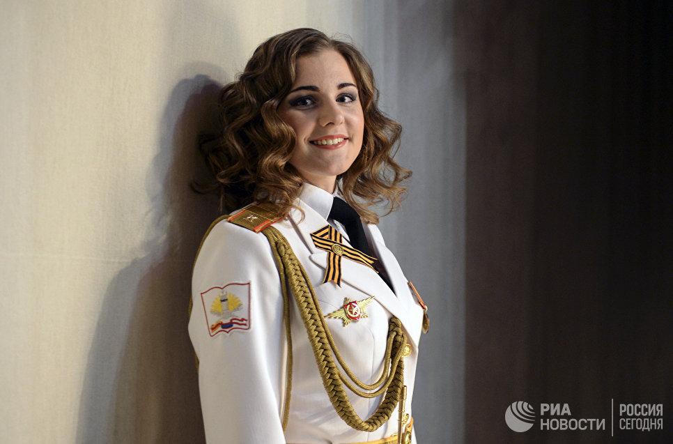 Участница конкурса красоты Краса и честь Санкт-Петербурга