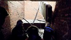 Обрушение лестничных пролетов в строящемся здании в Саранске