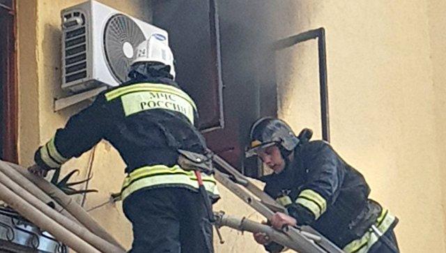СКвозбудил дело после пожара вобщежитии Сочи