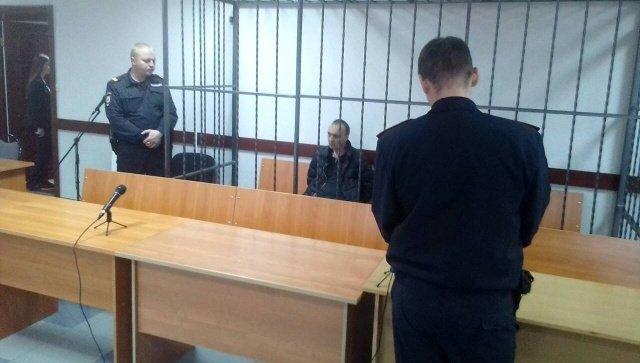 Юрий Малафеев в зале суда во время оглашения приговора. 14 ноября 2017
