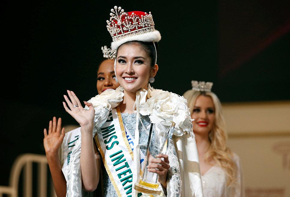Победительница конкурса красоты Miss International 2017 Кевин Лилиана