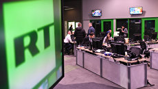 Офис телеканала RT. Архивное фото