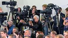 Журналисты. Архивное фото.