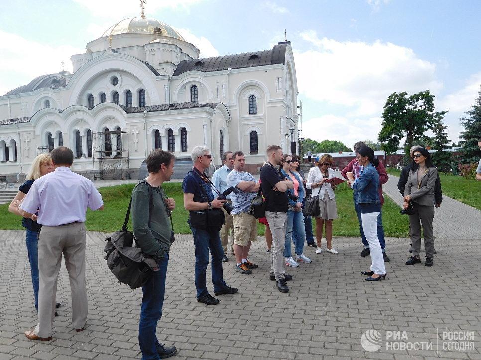 Свято-Николаевская церковь на территории Брестской крепости
