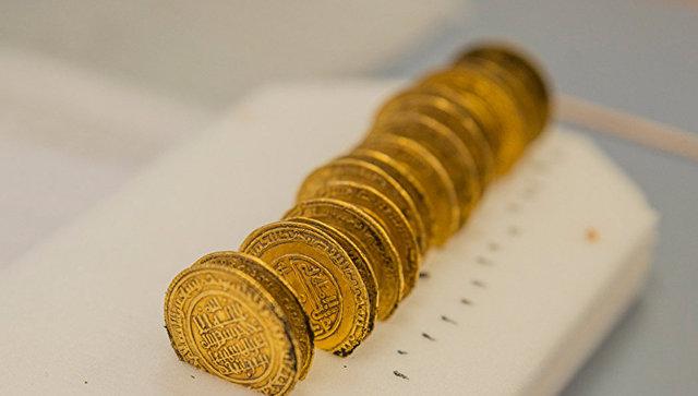 Монеты из аббатства Клюни на востоке Франции