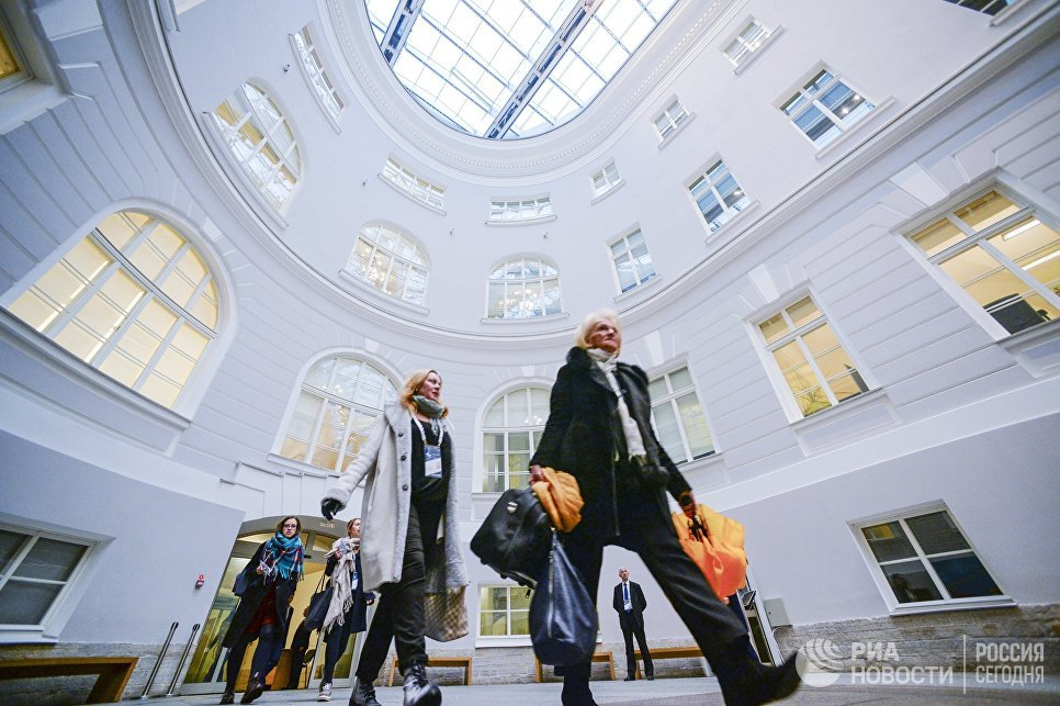 Участники VI Санкт-Петербургского международного культурного форума