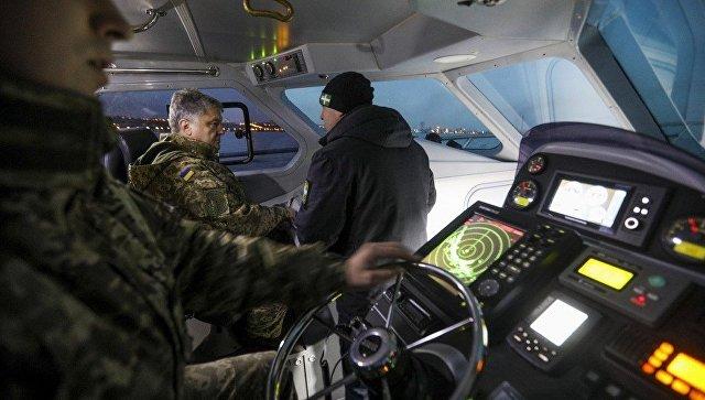 Порошенко испытания катера УМС-1000