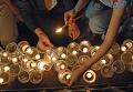 Траурный митинг в память о погибших в Южной Осетии у стен храма Христа-Спасителя