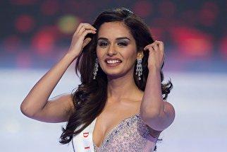 Участница конкурса красоты Мисс Мира-2017 Мануши Чхиллар из Индии