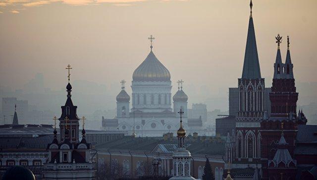 Виды Москвы. Архивное фото.