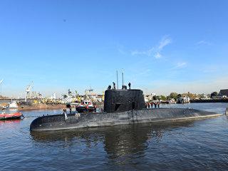 Подводная лодка Сан-Хуан ВМС Аргентины. Архивное фото