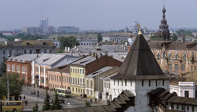 Вид на Ярославль. Архивное фото