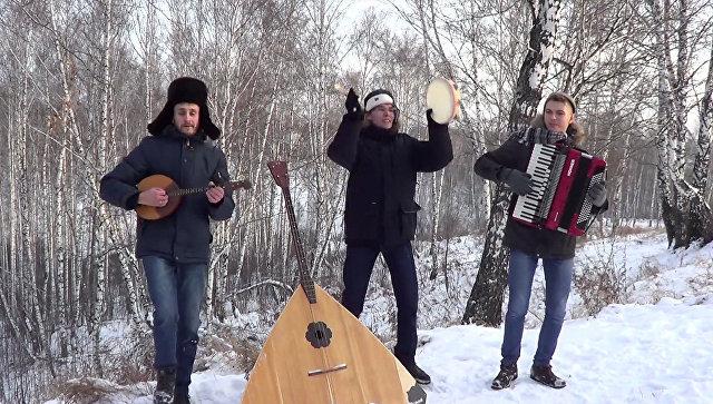 Новосибирские ребята записали клип на песню Despacito. Кадр из видео