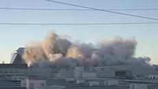 Стадион стоимостью 214 млн долларов взорвали в американской Атланте
