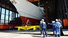 Малый ракетный корабль проекта 22800 (Каракурт). Архивное фото