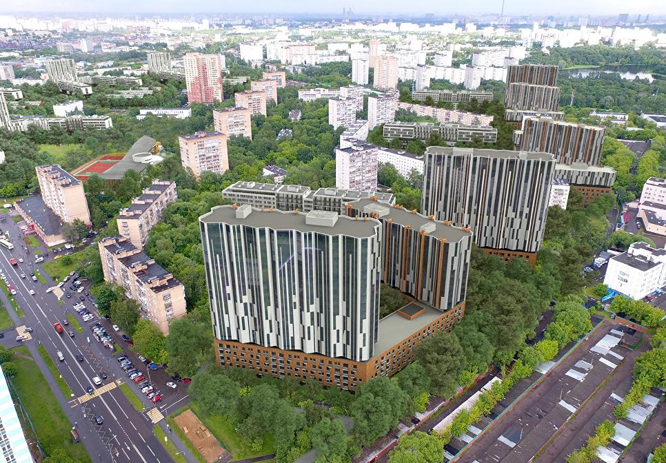 Концепция площадки реновации в Головинском районе от АБТБ+Яузапроект