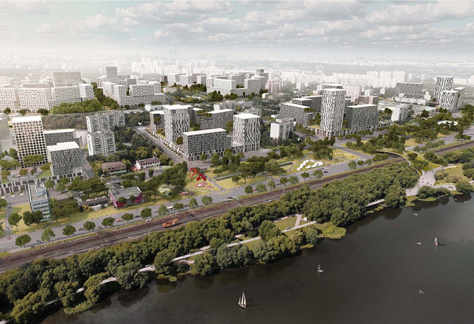 Концепция площадки реновации в районе Царицыно от бюро Progress+Eric van Egeraat