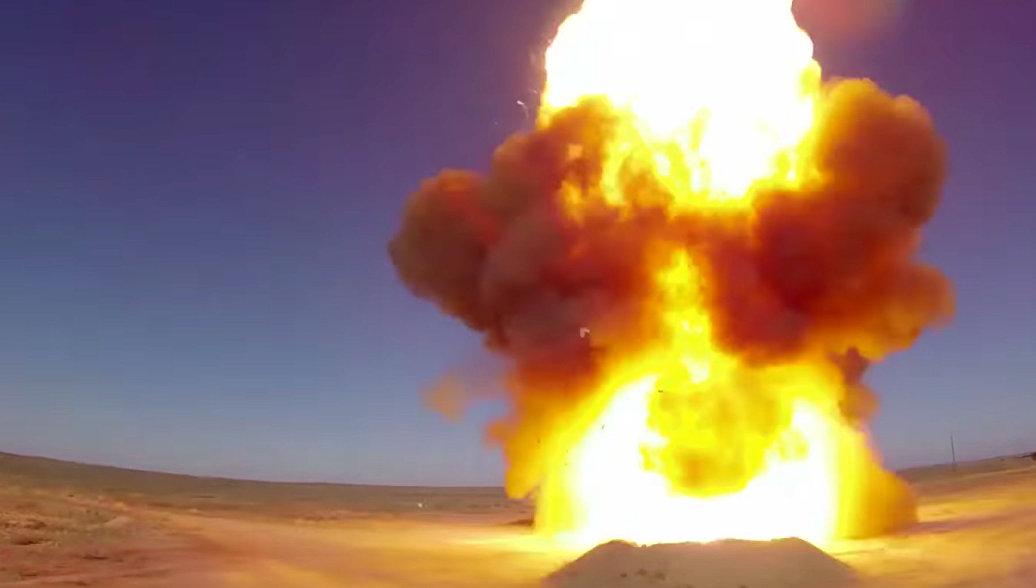 Пуск модернизированной противоракеты системы ПРО на полигоне Сары-Шаган. Архивное фото