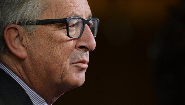 Председатель Европейской комиссии Жан-Клод Юнкер перед началом 5-го Саммита Восточного партнерства в Брюсселе. Архивное фото