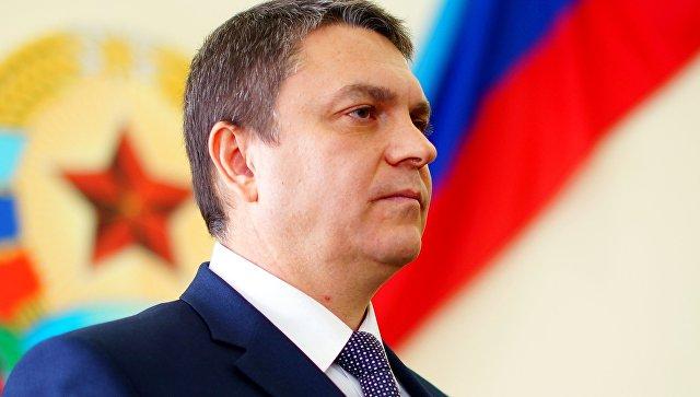 Временно исполняющий обязанности главы Луганской Народной Республики Леонид Пасечник. Архивное фото
