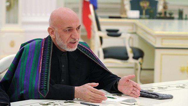 Экс-президент Афганистана Хамид Карзай. Архивное фото