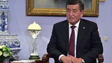 Президент Киргизии Сооронбай Жээнбеков. Архивное фото