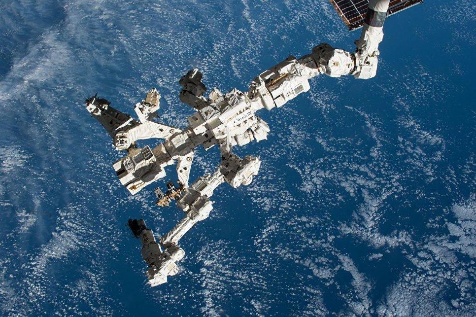 Передвижная обслуживающая система Канадарм2 на МКС