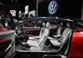 Volkswagen I.D. Crozz на автосалоне в Лос-Анджелесе
