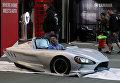 Электромобиль на автосалоне в Лос-Анджелесе