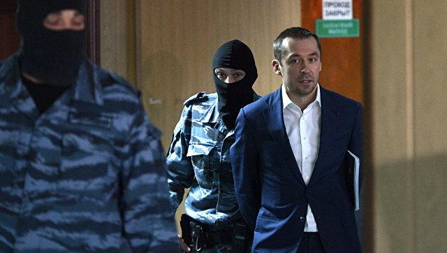 Рассмотрение ходатайства следствия о продлении срока ареста Дмитрию Захарченко в Пресненском суде города Москвы. 3 ноября 2016