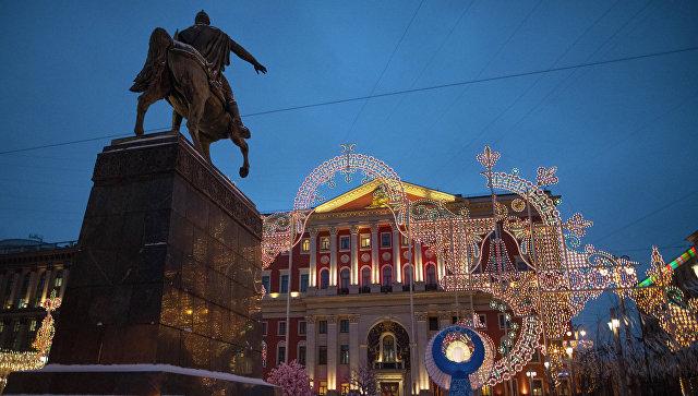 Мэрия Москвы. Архивное фото