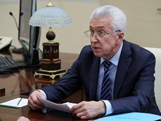 Временно исполняющий обязанности главы Дагестана Владимир Васильев. Архивное фото