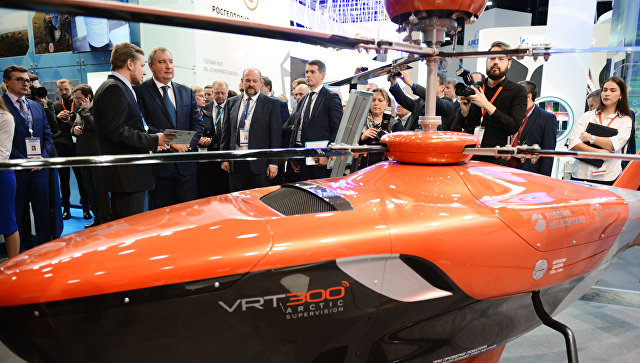 «Вертолеты России» начали стендовые тестирования беспилотного вертолета VRT300