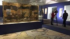 На выставке Владыки океана. Сокровища Португальской империи XVI — XVIII вв в Московском Кремле. 7 декабря 2017