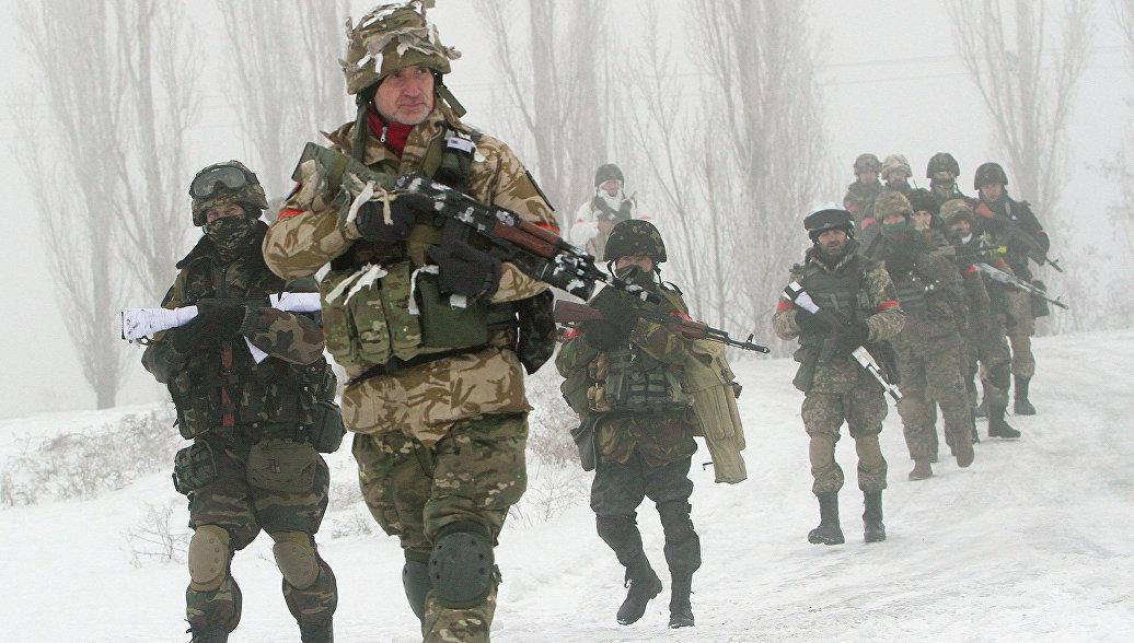 "СМИ: бойцы ""Донбасса"" взяли в плен 17 ополченцев в районе Логвиново"