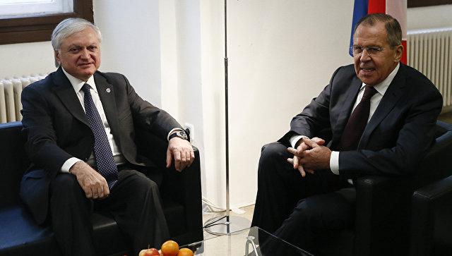 Лавров пошутил про мандарины навстрече сглавой МИД Армении