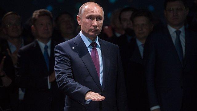 РФ нужен собственный сжиженный газ— Путин