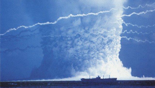 Ядерные испытания. Архивное фото