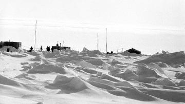 Дрейфующая станция Северный полюс. Архив