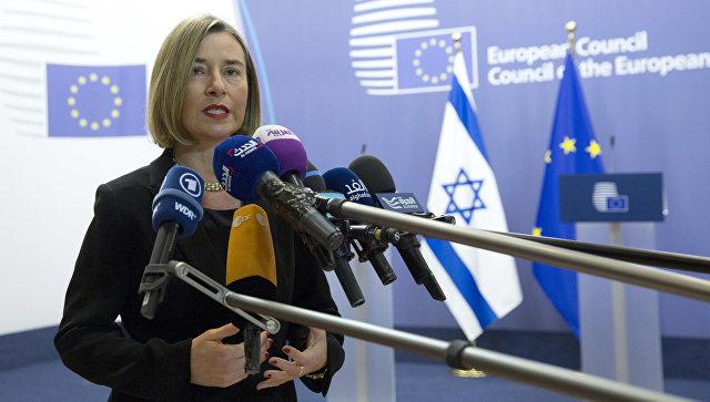 Могерини сообщила, чтоЕС несчитает войну вСирии завершенной