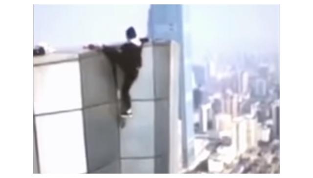 Китайский руфер снял на видео собственную гибель