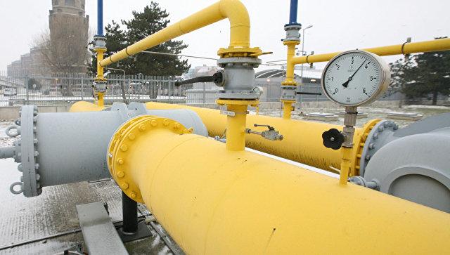 Газопровод в Австрии. Архивное фото
