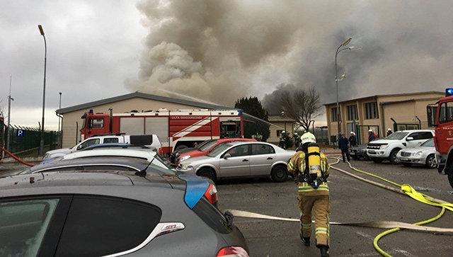 Пожар нагазораспределительной станции вАвстрии навсе 100% потушен