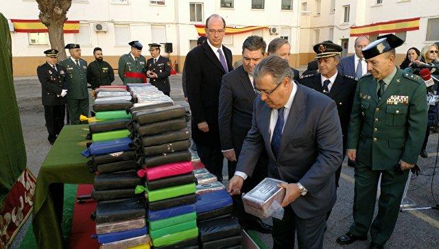 В Испании изъяли полтонны кокаина на сумму 18 миллионов евро
