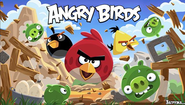 Скриншот игры Angry Birds