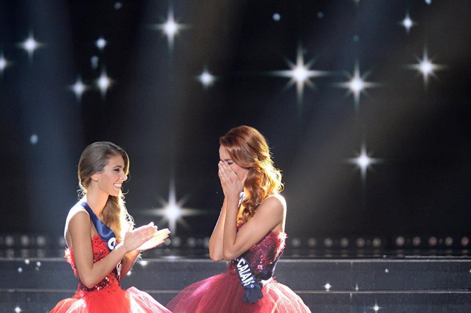 Победительница конкурса красоты Мисс Франция 2018 Маёва Кук