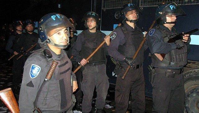 Полиция в Аргентине. Архивное фото