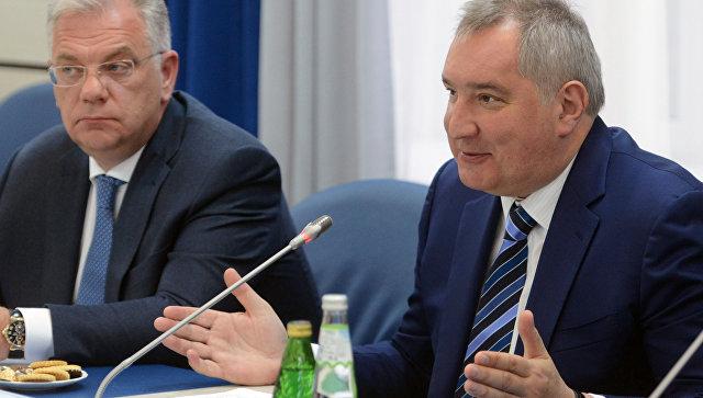 Рогозин представил российскую технологию жидкостного дыхания